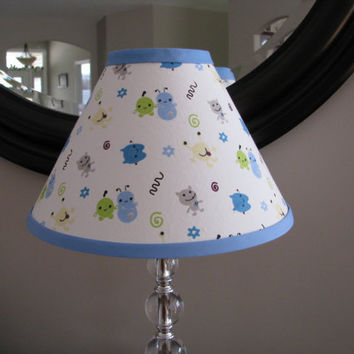 Peek a Boo Monster Lamp Shade by Zacharydickorydock on Etsy