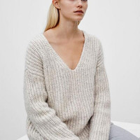 Rainy Days Thick Knit Sweater