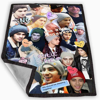 Zayn Malik One Direction Blanket for Kids Blanket, Fleece Blanket Cute and Awesome Blanket for your bedding, Blanket fleece **