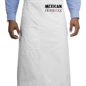 Mexican Princess - Cinco de Mayo Adult Bistro Apron by TooLoud