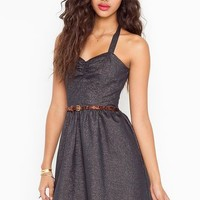 Yuri Shimmer Dress  in  Sale at Nasty Gal
