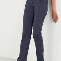 Silence + Noise Malorie High-Rise Zipper Pant   Urban Outfitters