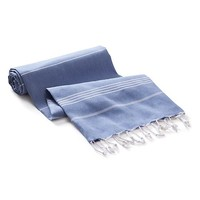 Banana Republic Woven Beach Blanket Size One Size - Blue