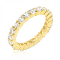 Jessica Band In Goldtone Finish