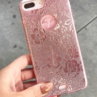 PINKY ROSE CELL-PHONE CASE