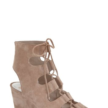 Dolce Vita 'Louise' Ghillie Lace Wedge (Women) | Nordstrom