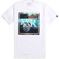 Young & Reckless Left Coast Photo T-Shirt - Mens Tee - White