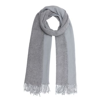 Poodle Scarf in Grey