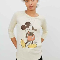 Junk Food Mickey Mouse Raglan Tee
