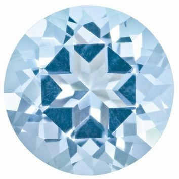 Loose Topaz Gemstone Ice Blue  1.25mm Round Natural Brilliance