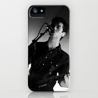 Alex Turner // Arctic Monkeys iPhone & iPod Case by Hattie Trott | Society6