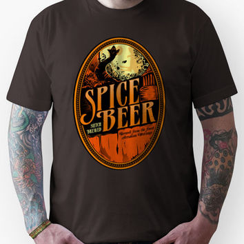 Spice Beer Label Unisex T-Shirt
