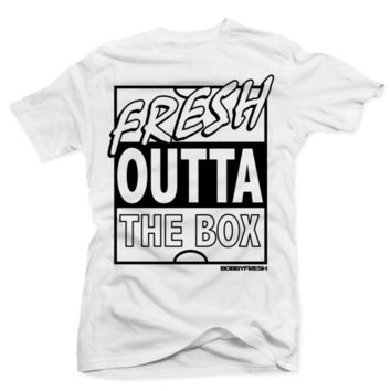 Bobby Fresh - Fresh Outta The Box White Tee
