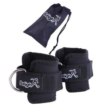 2 PCS Ankle Anchor Strap Belt Thigh Leg Pulley Lifting Resistance Bands