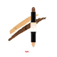 Double-ended 2 in1 Contour Stick Contouring Highlighter Bronzer Create diional Face Makeup Concealer Full Cover Blemish
