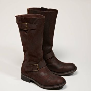 AEO Zipped Buckle Boot | American Eagle Outfitters
