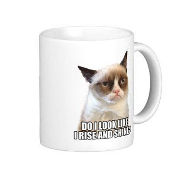 Grumpy Cat Mug from Zazzle.com