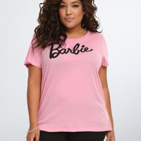 Barbie Logo Crop Tee