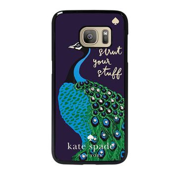 KATE SPADE PEACOCK Samsung Galaxy S7 Case Cover