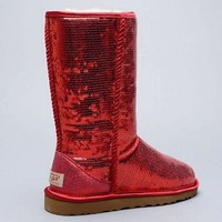 Tagre™ UGG Sheepskin Light Medium Sequins Snow Boots Shoes