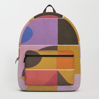 Modern Totem #society6 #buyart #decor Backpack by mirimo