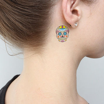 World Died Web - Temporary Tattoo (Set of 2)