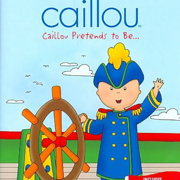 Caillou-Caillou Pretends To Be (Dvd) Nla