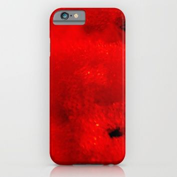 Red Coral iPhone & iPod Case by Lord Egon Will
