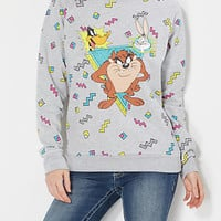 Retro Looney Tunes Fleece Sweatshirt