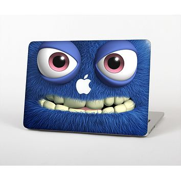 The Angry Blue Fury Monster Skin Set for the Apple MacBook Pro 15""
