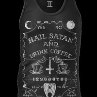 Black Craft — Hail Satan & Drink Coffee - Tank top