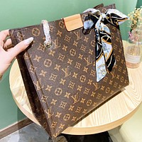 Louis Vuitton LV Fashion New Monogram Leather Chain Shopping Leisure Shoulder Bag Women Crossbody Bag