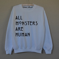 All Monsters-AHS Crew neck
