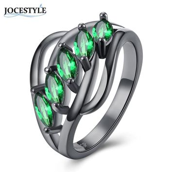 Vintage Rings for Women Geometric black ring Women Jewelry Wedding Engagement Cocktail Party Ring anel Boho Spinner Ring 2017