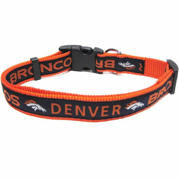 Denver Broncos Collar Large