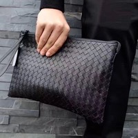 BV BOTTEGA VENETA MEN LEATHER HANDBAG