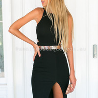 Literally Yours Dress (Black) | Xenia Boutique | Women's fashion for Less - Fast Shipping