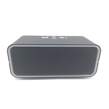 C200 Portable Wireless Bluetooth Speaker dual horn Stereo Speakers hifi Music Surround Support TF AUX USB Play with FM