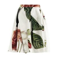 Liberty rose puzzle-print skirt | Vivienne Westwood Anglomania...