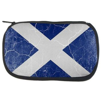 DCCKU3R Scottish Flag Distressed Grunge Scotland Travel Bag
