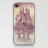 Castle in the Trees iPhone & iPod Skin by Rachel Caldwell | Society6