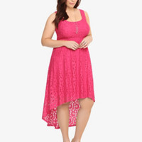 Hi-Lo Lace Tank Dress