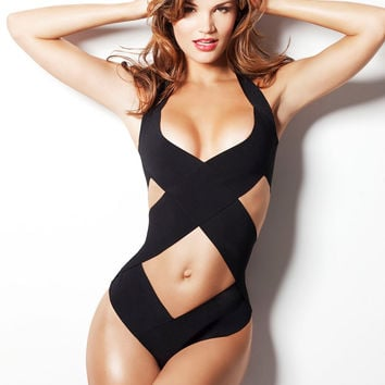 TOP selling swimsuit as seen in GQ one piece swimwear by liliash