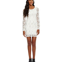 Honey and Rosie Sequin Lace Dress   Dillards.com