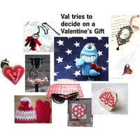 Val Tries to Decide on a Valentine's Gift