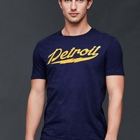 Motor City Detroit graphic t-shirt