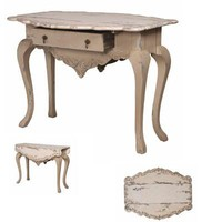 Vintage French Drop-Leaf Writing Table - Belle Escape