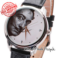 Salvador Dali Wrist Watch, Unisex Wristwatch, Mens and Womens Watches, Gift for Her, Gift for Him, Birthday Gift - Free Shipping Worldwide