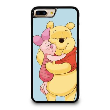 winnie the pooh and piglet iphone 4 4s 5 5s se 5c 6 6s 7 8 plus x case  number 1