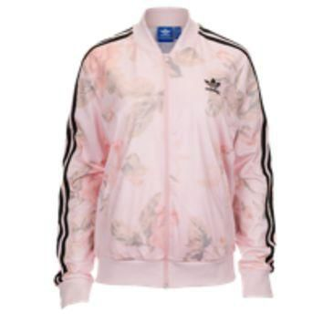 adidas Originals Pastel Rose Track Top - Women's at Lady Foot Locker